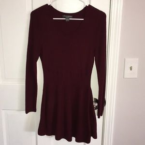 Peplum style maternity sweater. Great fit & feel!